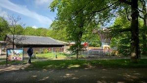 Laatste lunapark van Nederland in de bossen bij Austerlitz weer geopend