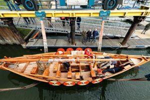 Wijks vikingschip krijgt toch (tijdelijke) ligplaats in de haven