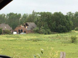 Valwind Leersum: derde schadespoor over landgoed Zuylestein